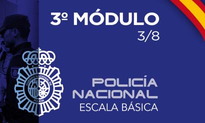 Policía Nacional Escala Básica Modulo 3