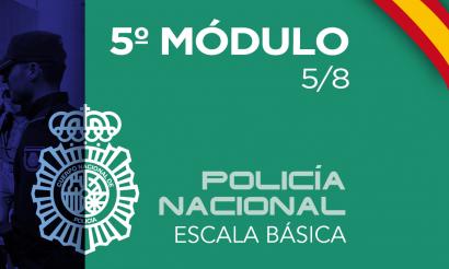 Policía Nacional Escala Básica Modulo 5