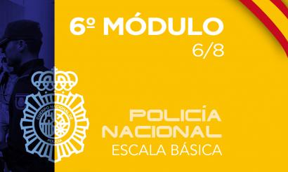 Policía Nacional Escala Básica Modulo 6