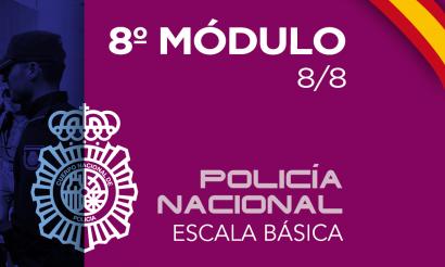 Policía Nacional Escala Básica Modulo 8