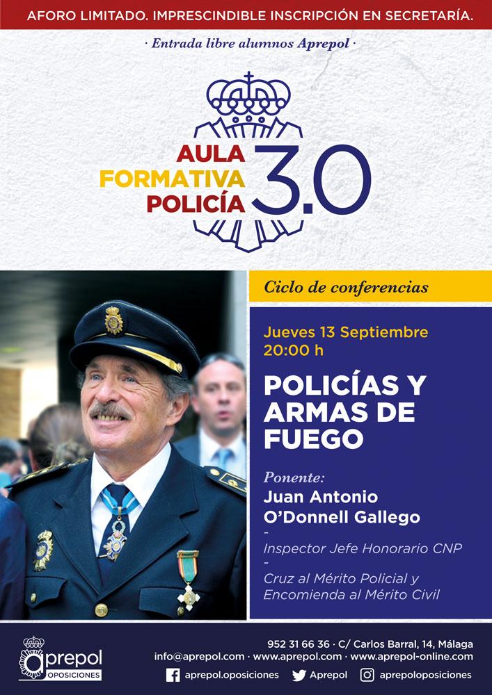 Aula Formativa Policía 13 septiembre. Juan Antonio O'Donnell Gallego.