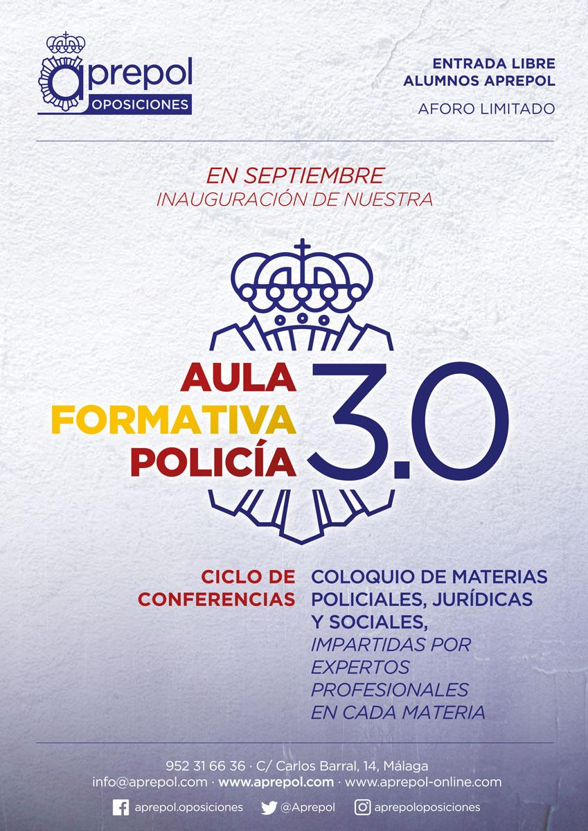 Aula Formativa Policía 3.0